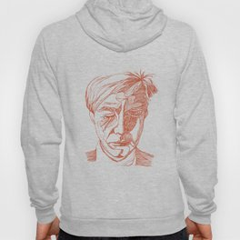 Andy portrait (Red) Hoody