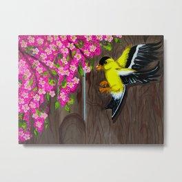 American Goldfinch Metal Print