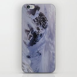 Hiking on top of The World iPhone Skin