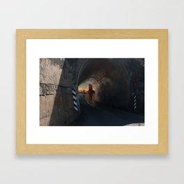 Tunnel to the Gods Framed Art Print