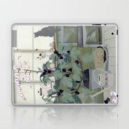 Indoor Garden With Fig Tree Laptop & iPad Skin