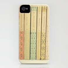 Old Books Slim Case iPhone (4, 4s)
