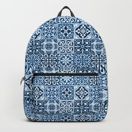 Classic Blue Tiles Backpack