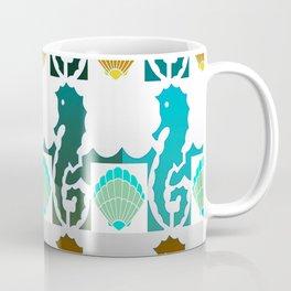 Seahorses & Shells 3 Coffee Mug