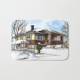 A Bungalow in the Country Bath Mat