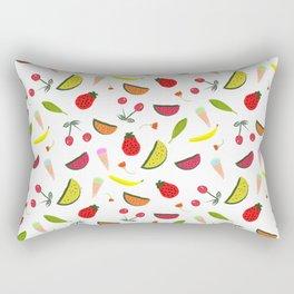 Vegan Goodies Pattern Rectangular Pillow