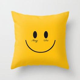 ALWAYS TIRED Throw Pillow