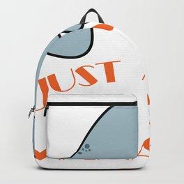 "A Sea Lion Tee Saying ""Just A Giel Who Loves Manatees!"" T-shirt Desgin Sea Creatures Ocean Cute Backpack"