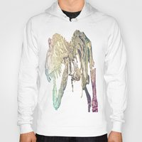 t rex Hoodies featuring T-REX  by T.E.Perry