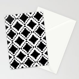 Modern Black Stationery Cards