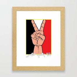 I love Egypt! Framed Art Print