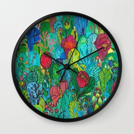 Kingdom of Plants Wall Clock