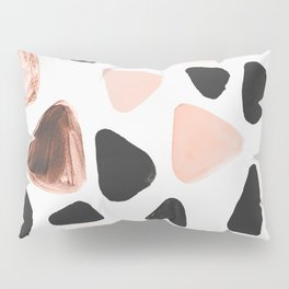 Rounded Triangles Pillow Sham