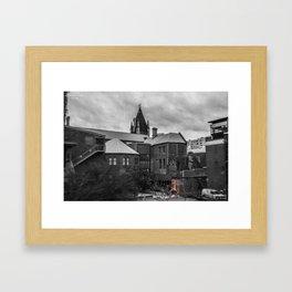 Unseen Monsters of Melbourne - Tutts n Boo Framed Art Print