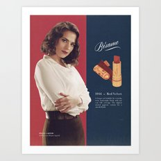 Peggy Carter Art Print