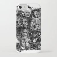 horror iPhone & iPod Cases featuring Horror by Sinister Star