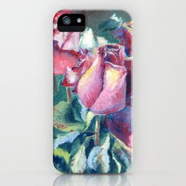 Assorted Roses in a Vase iPhone Case