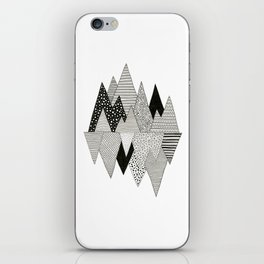 Lost in Mountains iPhone Skin