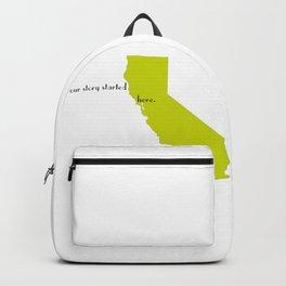 san francisco love Backpack