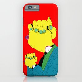 Knuckle Head III - Gary iPhone Case
