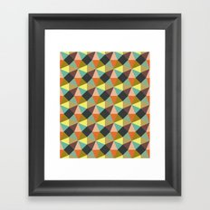 Simply Symmetry Framed Art Print