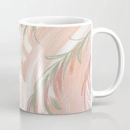 pastel coral swirl Coffee Mug