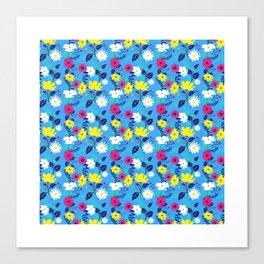 Trieste Floral Pattern Canvas Print