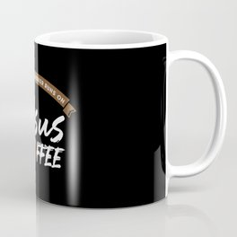 This Social Worker Runs On Jesus and Coffee Coffee Mug