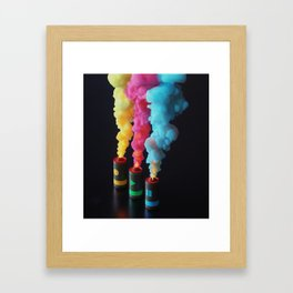 Fuse Framed Art Print