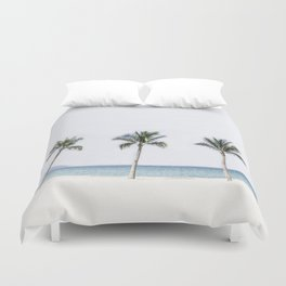 Palm trees 6 Duvet Cover