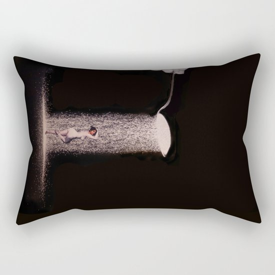 "Collage ""Feed ME"" Rectangular Pillow"
