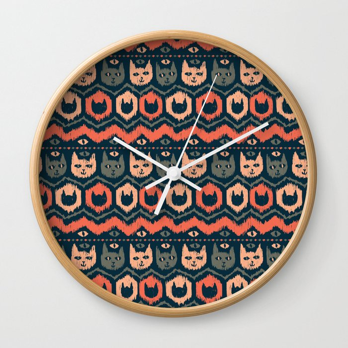 Icat Wall Clock