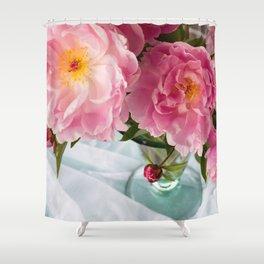 Vibrant Bouquet Shower Curtain