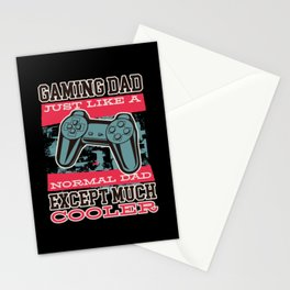 Gaming Dad Stationery Cards