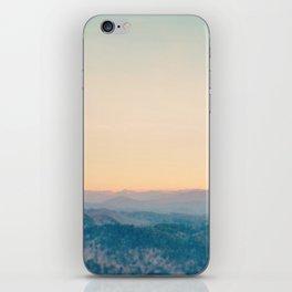 Mountain Sunset iPhone Skin