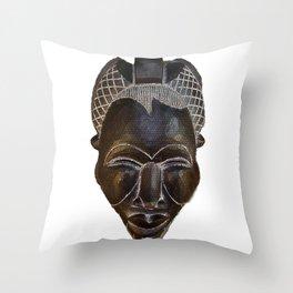 Tikar II Mask Throw Pillow