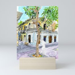 View from Parque Cristo, Habana Vieja, Cuba Mini Art Print