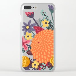 Last days of summer Clear iPhone Case