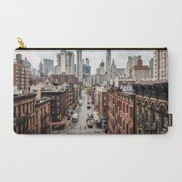 New York City Skyline (Brooklyn, Queens, Manhattan) Carry-All Pouch