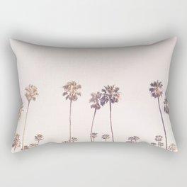 Sunny Cali Palm Trees Rectangular Pillow