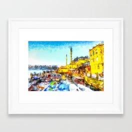 Istanbul Art Framed Art Print