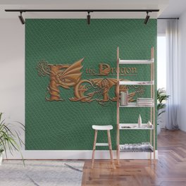 Pete, the Dragon Wall Mural