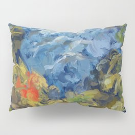 Landscape 2 Mountains Pillow Sham