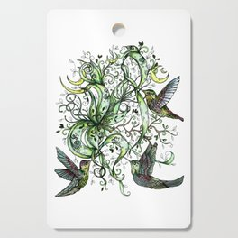 Hummingbird Garden Party Cutting Board