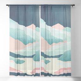 Tranquil Vista Sheer Curtain