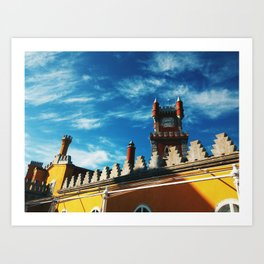 Pena Palace in Sintra, Portugal Art Print