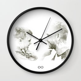 Father ans son Wall Clock