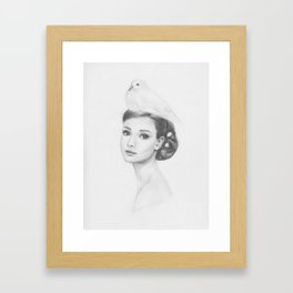 Nestled Framed Art Print