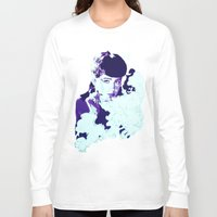 blade runner Long Sleeve T-shirts featuring RACHAEL // BLADE RUNNER by mergedvisible