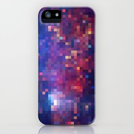 Galactic Squares #1 iPhone Case